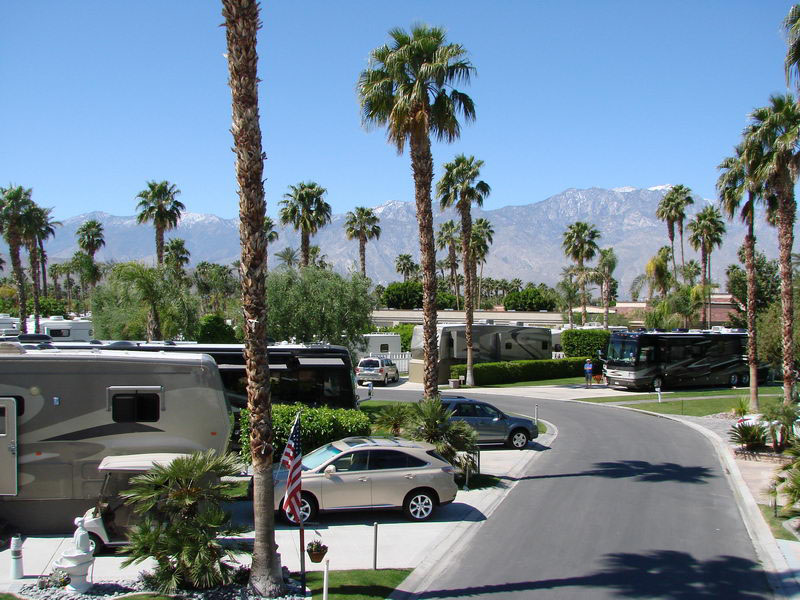 Palm Springs RV Parks - Lots of Photos!