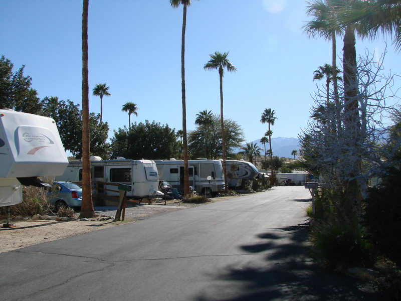 Back To Palm Springs RV Parks